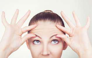 Exerciții pentru a reduce ridurile de pe frunte