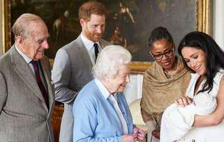 Meghan Markle și prințul Harry au ales nașii bebelușului. Motivul dureros pentru care au făcut această alegere