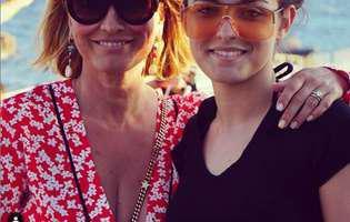Andreea Esca și fiica ei, Alexia, s-au pozat în costum de baie, în vacanța din Grecia. Fanii sunt în delir