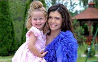 Ce frumoasă s-a făcut fiica Monicăi Gabor și a lui Irinel Columbeanu. Seamănă leit cu mama ei
