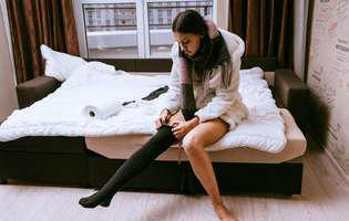 Tratament pentru varice. Ciorapii compresivi