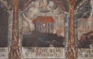 Biserica în flăcări din Sighișoara și farfuriile zburătoare!