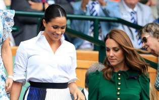 Ce a făcut Kate Middleton pentru Meghan, când Serena Williams a pierdut finala de la Wimbledon în fața Simonei Halep