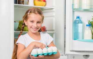 Cât timp poți să ții ouăle fierte și pe cele crude în frigider!