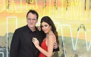 Quentin Tarantino tata pentru prima oara
