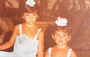 Sunt surori și azi sunt amândouă actrițe celebre și se numără printre cele mai frumoase femei din lume. Le recunoști?