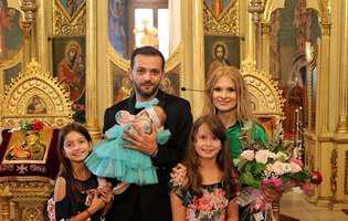 botezul fiicei lui Mihai Morar