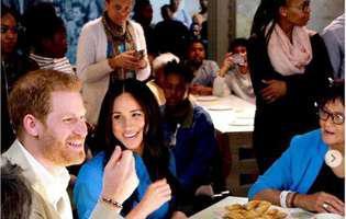 Meghan Markle, Cenușăreasă sau prințesă în Africa de Sud? Uite cum s-a îmbrăcat | GALERIE FOTO
