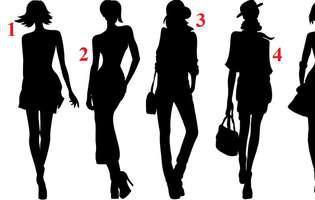 În care dintre cele 5 siluete te recunoști? Alegerea ta poate dezvălui detalii interesante despre tine