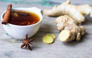 Ceaiul de ghimbir are rol terapeutic