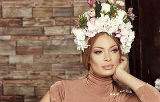 Valentina Pelinel, prima imagine în care se văd fețele gemenelor. Ce frumoase sunt