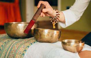 Baia de sunete, o terapie tibetană care vindecă