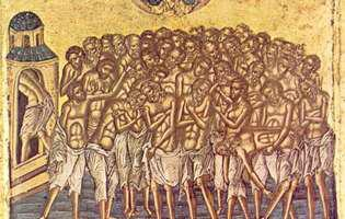 Sfinţii 40 de mucenici din Sevastia, 9 martie 2020
