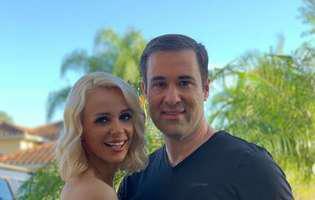 Catrinel Sandu s-a căsătorit cu iubitul american. Ce fericită e!