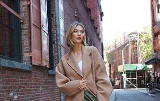 rochia de mireasa a lui Karlie Kloss