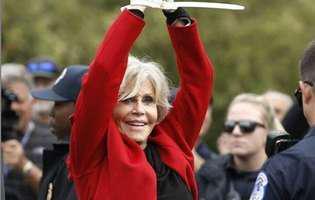 Jane Fonda nu va mai cumpara nimic de imbracat