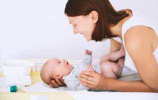 Îngrijirea pielii bebelușului: Folosirea de produse speciale pentru copii
