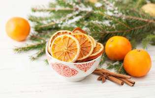 Delicii de Crăciun cu portocale parfumate