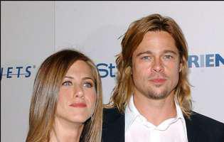 Brad Pitt a participat la petrecerea de Craciun a lui Jennifer Aniston