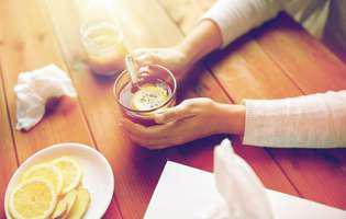 Remedii naturale pentru nas înfundat: ceai de ghimbir