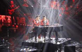 Ştefan Bănică jr. a cântat pentru prima dată pe scenă cu fiul său. Ce voce frumoasă are Radu!