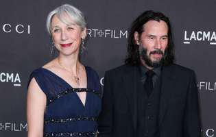 iubita lui Keanu Reeves a explicat de ce nu-si vopseste parul