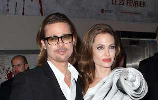 Brad Pitt si Angelina Jolie lanseaza impreuna o sampanie