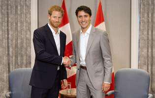 Premierul Canadei, reacție neașteptată după ce a aflat că Meghan Markle și prințul Harry vor să se mute în Canada