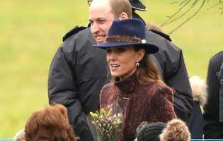 Motivul pentru care Kate Middleton și prințul William și-au făcut din nou apariția la Sandringham