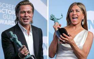 Brad Pitt și Jennifer Aniston, din nou împreună. Fanii așteptau de 15 ani aceste imagini cu ei
