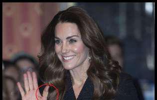 Kate Middleton a apărut iar cu degetul bandajat. Ce a pățit ducesa