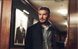 David Beckham a pastrat biletul de tren pe care Victoria i-a scris numarul de telefon