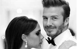inregistrare veche cu David si Victoria Beckham