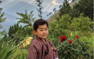 nou bebelus regal in Bhutan