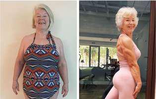 o batranica de 73 de ani a slabit 23 de kilograme