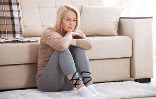 Blocată în izolare cu un soț abuziv. Risc crescut în perioada de izolare