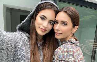 Andreea Berecleanua are o frumusețe de fată. Eva seamănă perfect cu mama ei