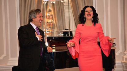 Angela Gheorghiu, sărbătorită de Royal Opera House