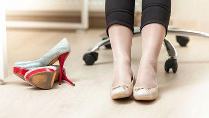 pantofi cu toc si balerini
