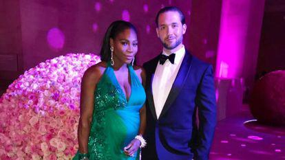 Serena Williams și Alexis Ohanian