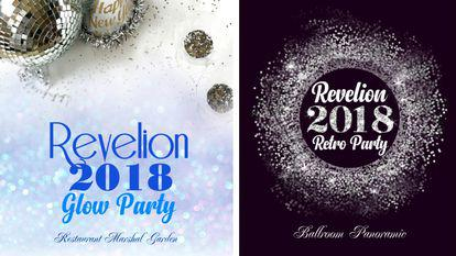 (P) RETRO PARTY sau GLOW PARTY  REVELION 2018 la Hotel Marshal Garden 5*