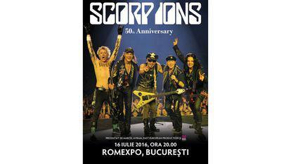 Un concert de colecție – Scorpions, pe 12 iunie 2018 la București, în cadrul Crazy World Tour
