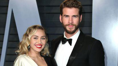 Miley Cyrus și Liam Hemsworth