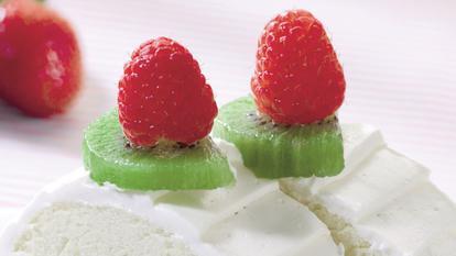 Ruladă cu kiwi și vanilie