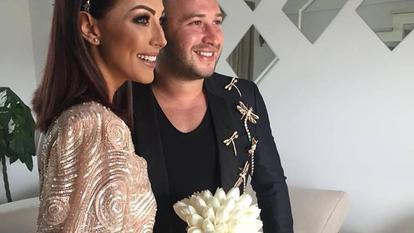Imagini de colecție de la nunta Ilincăi Vandici cu Andrei Neacșu! Miri au purtat ținute inedite