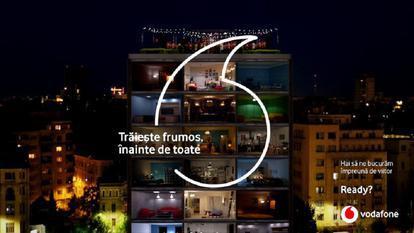 Vodafone România lansează campania neconvențională de brand