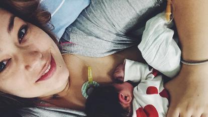 Feli, prima imagine cu tatăl copilului – Fotografia în care bărbatul apare alături de micuța Nora
