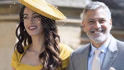 primele imagini cu gemenii soților Clooney