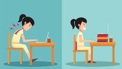 Cum să-ţi îmbunătăţeşti postura
