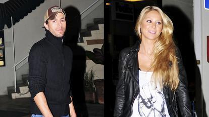 Primele fotografii cu fetița cuplului Enrique Iglesias și Anna Kournikova